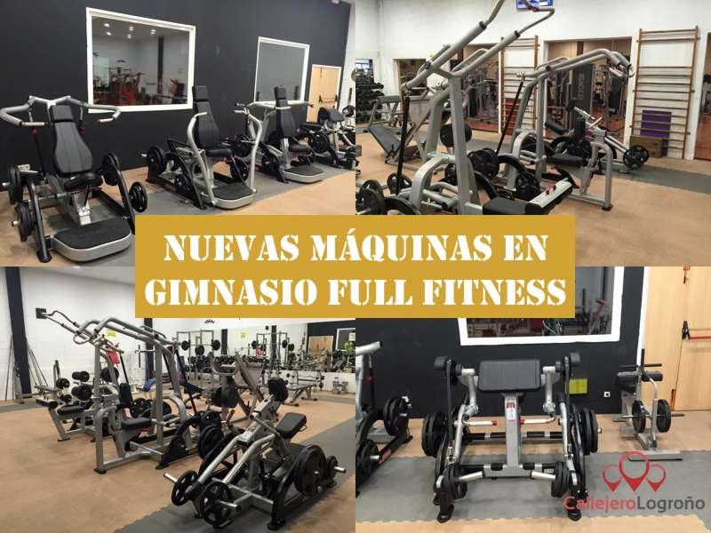 Full Fitness nuevas máquinas
