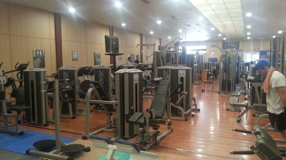 Musculación en Full Fitness